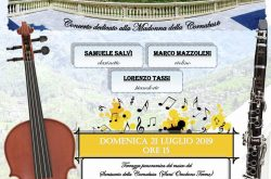 """""""Suoni in Terrazza"""" Concerto mariano - Sant'Omobono Terme 21 Luglio 2019"""