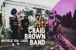 """""""Craig Brown Band"""" in Concerto all'Edone - Bergamo"""