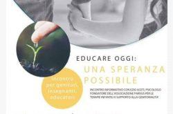 """""""Educare Oggi"""" Incontro - Alzano Lombardo"""