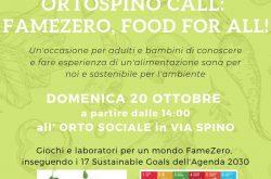 """""""Famezero food for All"""" OrtoSpino - Bergamo"""