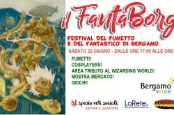 """""""Il FantaBorgo"""" Festival del Fumetto - Bergamo"""