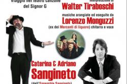 """Neanche fossimo Gaber"" Teatro - Tavernola Bergamasca"