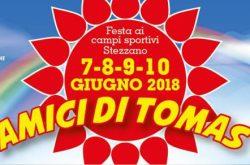 Festa Amici di Tomas a Stezzano