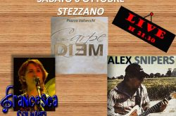 Francesca Soliveri & Alex Snipers LIVE@CARPE DIEM - Stezzano