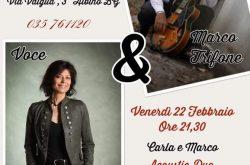 Acoustic Duo al Ristorante Alle Trote - Albino