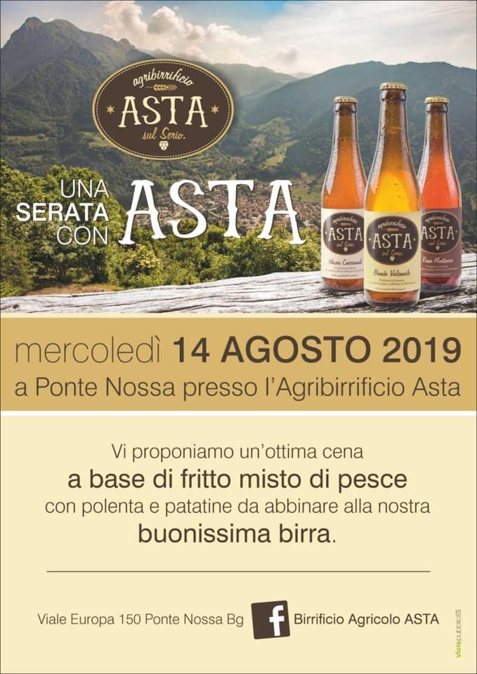 Fritto Misto e Musica al Birrificio Agricolo ASTA - Ponte Nossa