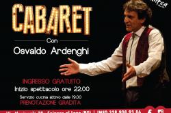 Cabaret con Osvaldo Ardenghi al Ninfea - Spinone al Lago