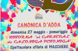 Carnevale con sfilata - Canonica d'Adda