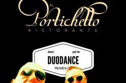 """Cena con """"Duodance"""" al Portichetto - Gandino"""