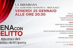 "Cena con Delitto ""La Brembana"" - Medolago"
