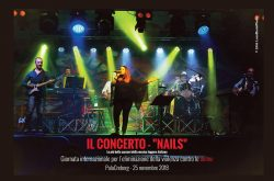 Concerto Nails Giornata contro la violenza sulle donne - Bergamo