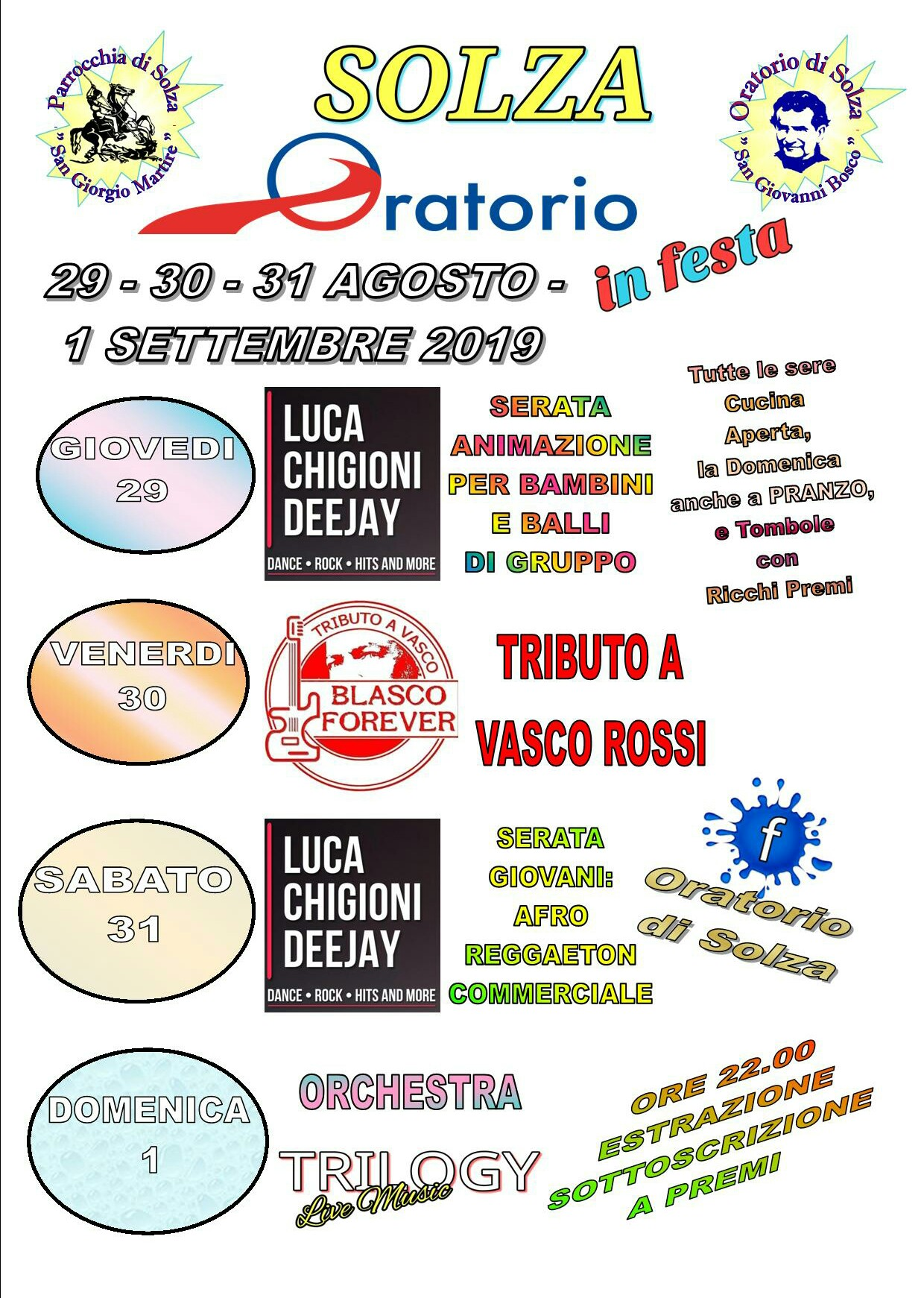 Oratorio in Festa - Solza
