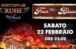 Four Blues in Concerto al Rush Ristopub - Bergamo