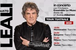Fausto Leali al Teatro Creberg - Bergamo