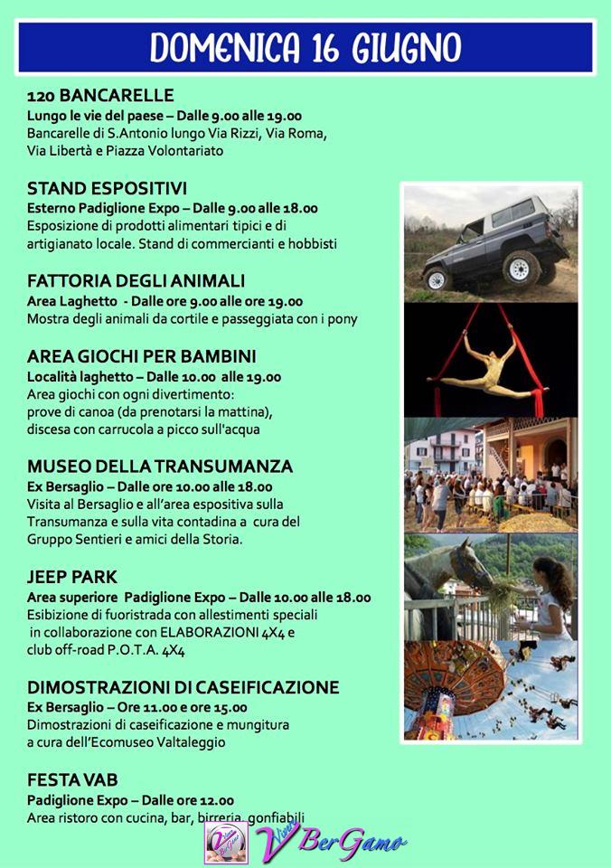 Festa di Sant'Antonio - Val Brembilla
