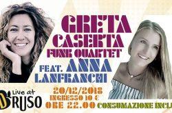 Greta Caserta Funk Quartet ft Anna Lanfranchi al Druso - Ranica