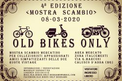 Old Bikes Only Mostra Scambio - Calusco d'Adda