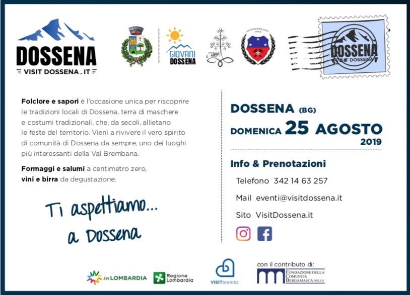 """Dossena Folclore & Sapori"" - Dossena"