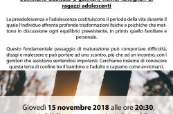 Incontro Adolescenti Genitori - Orio al Serio