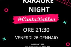 Karaoke Night al Babloo Bar – Urgnano