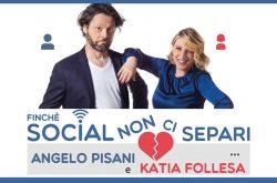 Katia Follesa e Angelo Pisani al Teatro Creberg - Bergamo