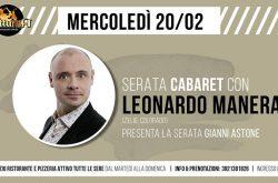 Leonardo Manera al Notturna - Curno