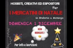 Mercatino di Natale - Morengo