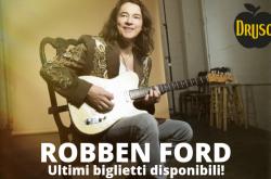 Robben Ford al Druso - Ranica