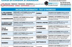 Corsi lingue straniere Bergamo e provincia