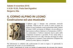 Il corno alpino Costruzione e uso musicale - Bergamo